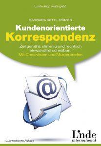 Buch Kundenorientierte Korrespondenz