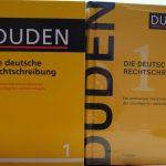 Duden 2917 und 26. Auflage nebeneinander