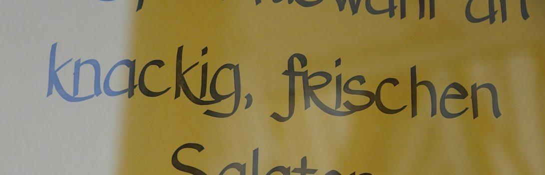 Beispiel für ein falsch gesetztes Komma zwischen Adjektiven