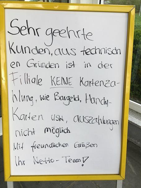 Verkäuferinnen-Deutsch - nicht korrekt, aber originell!