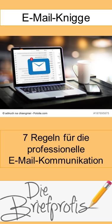 E-Mail Knigge - 7 Regeln für professionelle E-Mails