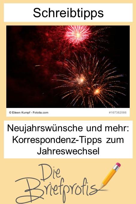 Neujahrswünsche und mehr: Korrespondenz-Tipps von den Briefprofis zum Jahreswechsel