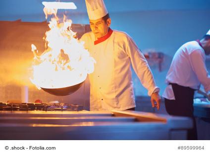 Feurige Kochkunst